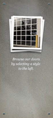 Browse our doors by selecting a style to the left.
